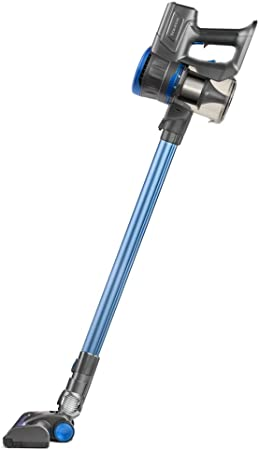 Taurus Ideal Lithium Aspirador de Mano y Lanza Extra Larga, 22.2 V, Cepillo motorizado Brush, Turbo Cyclonic System, 650 ml, Filtro HEPA, Azul, Plastique: Amazon.es: Hogar