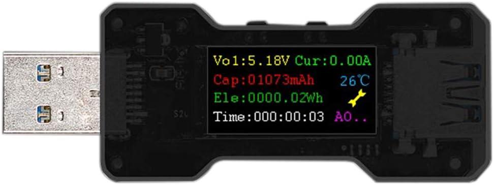 Mifive FNB18 USB Tester Volt/íMetro Digital Ampermetro Medidor de Voltaje de Corriente Amp Volt Amper/íMetro Detector Banco de Energ/íA Indicador Del Cargador