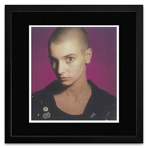 Stick It On Your Wall Sinead O'Connor - Closed Up Portrait 1988 Framed Mini Poster - 34x34cm