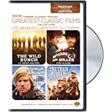 TCM Greatest Classic Films Collection: Western (The Wild Bunch / McCabe & Mrs. Miller / Jeremiah Johnson / The Train Robbers) (Bilingual)
