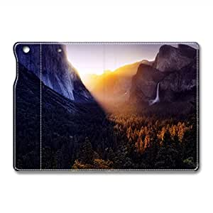 Brain114 iPad Mini Leather Case - Slim Flip Case Cover for iPad Mini Eye Catching Sunset - Auto Wake Up/Sleep Function New