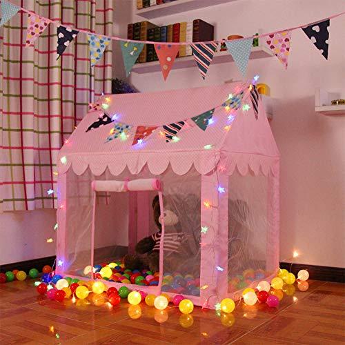 Play room pongis del poliester impreso infantil, Soporte de acero plástico barra juguete plegable de interior y al aire...