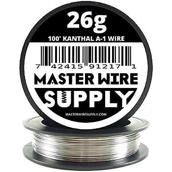 Kanthal A1 - 100' - 26 Gauge Resistance Wire