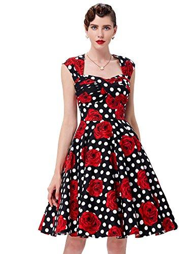 50s-Vintage-Picnic-Dresses-for-Women-BP0024