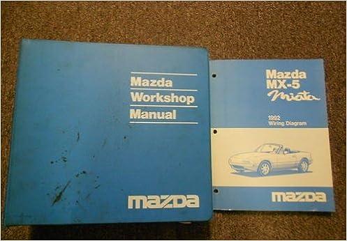 Mazda Mx 5 Miata 1992 Wiring Diagram Mazda Motor Corporation Amazon Com Books