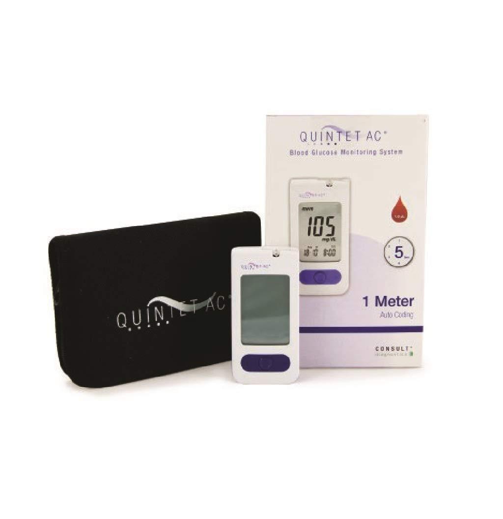 QUINTET AC Blood Glucose Monitoring System