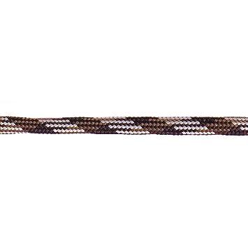 Barth bandl Los Cordones de Montaña Semicircular 150cm, Marrón Oscuro