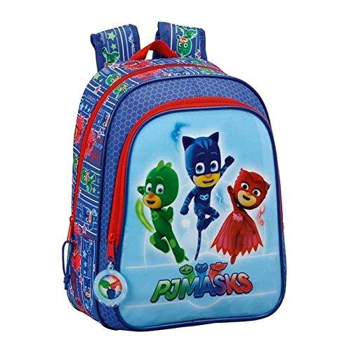 PJマスク611711524子供のバックパック、13`ポリエステル、マルチカラー、Catboy、Gekko、Owletteの商品画像