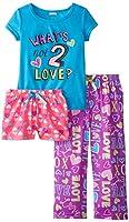 Sleep & Co Girls' Love 3 Piece Pajam...