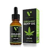 Hemp Oil for Pain & Anxiety Relief – 250mg Full Spectrum Organic Hemp Drops – Natural Hemp Oils for Better Sleep, Mood & Stress – Pure Hemp Extract – Zero THC CBD Cannabidiol – Mint Flavor Review