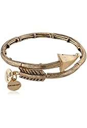 "Alex and Ani ""Valentine's Day Collection"" Love Struck Arrow Wrap Rafaelian Bangle Bracelet"