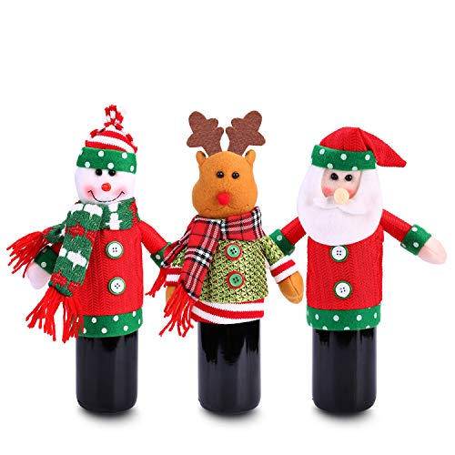 Konsait Ugly Sweater Christmas Party Kit, Christmas Wine