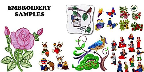 60,000+ Embroidery Machine Patterns Designs - Brother Software Embroidery