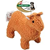 Ethical Pet Vermont Fleece Dog Toy, 10-Inch, Llama, Assorted