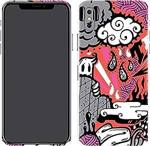 Switch iPhone X Skin Graffiti Tko 01