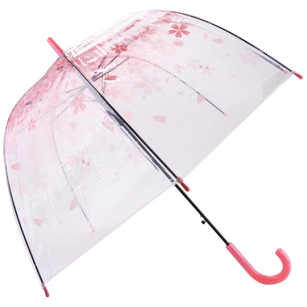 Amazon.com: Outgeek paraguas transparente, transparente ...