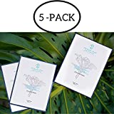 Ice Plant Stem Cell Facial Sheet Mask - The Award-Winning Anti-Aging Face Sheet Masks For Hydrating & Moisturizing Dry Skin Cleanse Pores & Rejuvenate Mature Skin UVA and UVB Protection