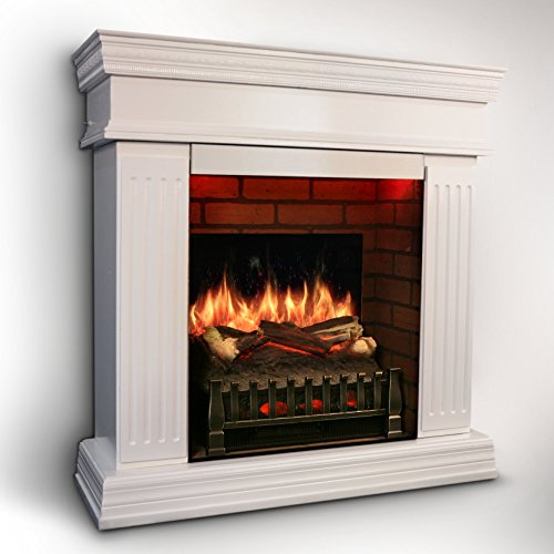 Magikflame Electric Fireplace W Realistic Flame Effects Crackling Logs Sound Fresh Cut Pine