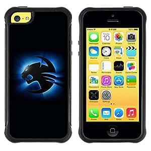 "Hypernova Defender Series TPU protection Cas Case Coque pour Apple iPhone 5C [Azul Cougar""]"