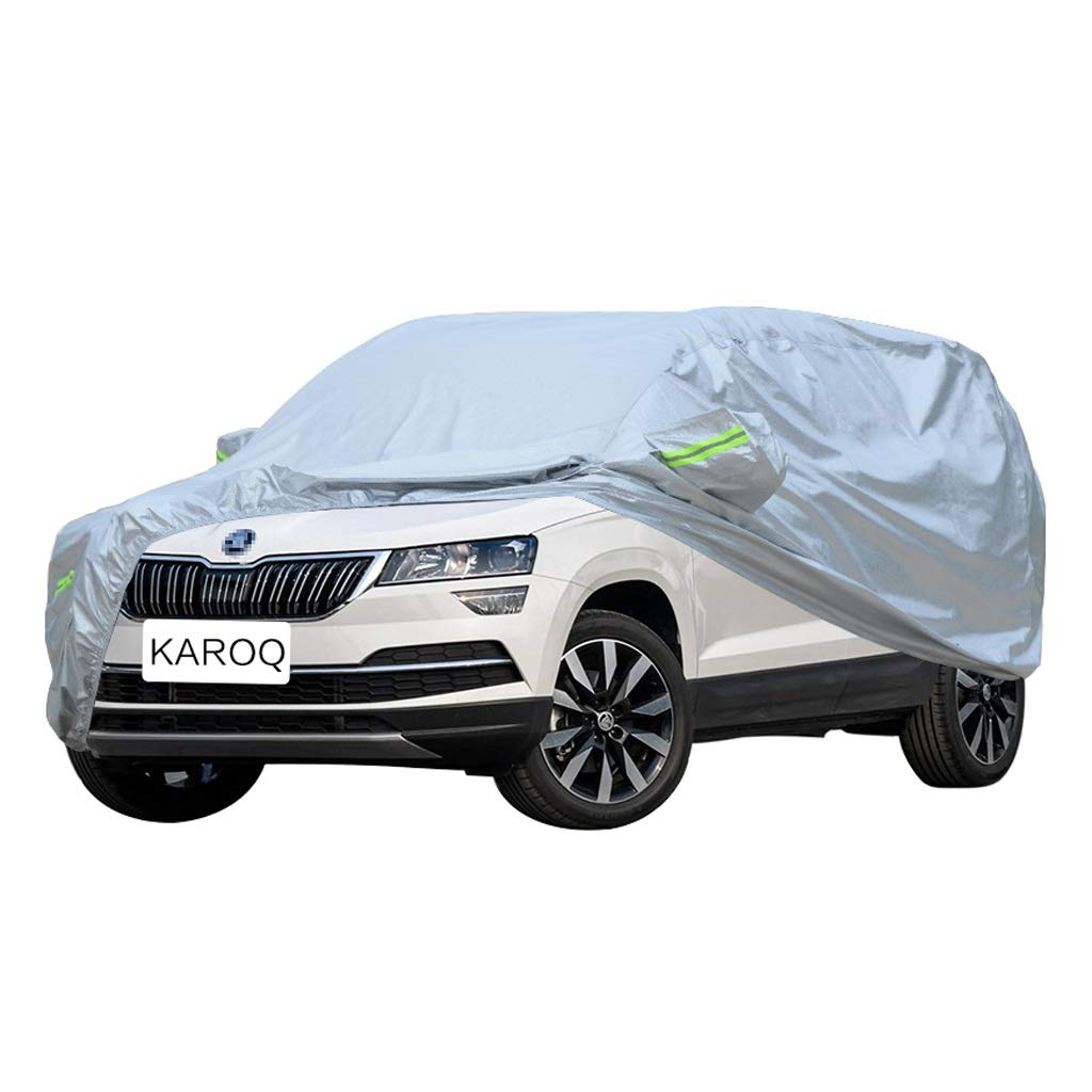 SXET-Car cover Car Cover Oxford Cloth Windshield Cover Skoda Karoq Special Car Cover UV Protection Waterproof Scratch