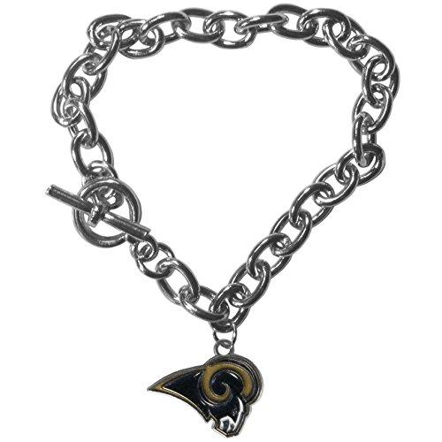 NFL Los Angeles Rams Charm Chain Bracelets