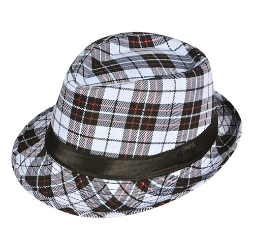 PLAID FEDORA, Case of 72 by DollarItemDirect