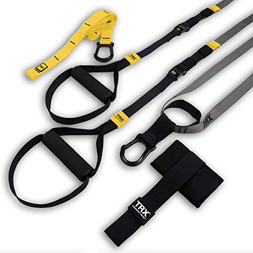 TRX GO Suspension Training: Bodyweight Fitness Resistance Training | Fitness for All Levels & All Goals for Total Body Workouts for Home & Travel | Lightweight & Portable | Workout Poster Included
