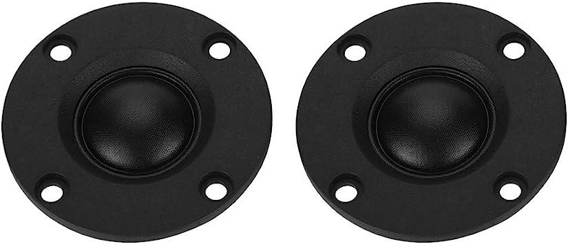2Pcs 30W 6Ω Silk Film Dome Tweeter Treble Speaker Hifi tweeter Loudspeaker 52mm