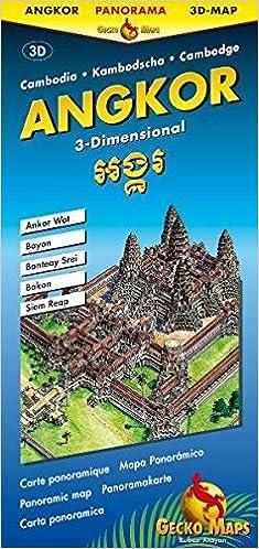 Angkor Wat 3-Diional Panoramic Map: Gecko Maps: 9783906593302 ... on