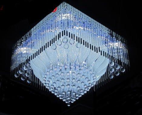 Buy Bajrang Lighting Led Chandelier(Jhoomar) with Bluetooth Music ...