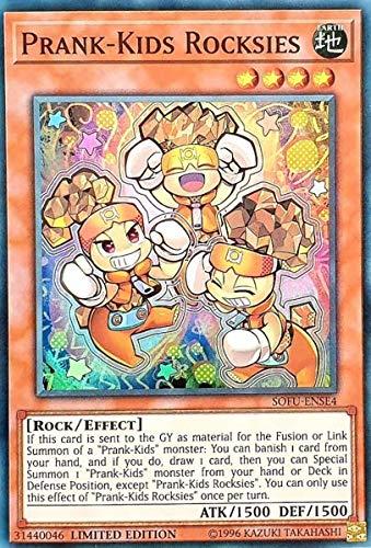 Prank-Kids Rocksies - SOFU-ENSE4 - Super Rare - Limited Edition