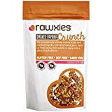Rawxies Smoked Paprika Crunch, Snack Mix or Salad Topper with Healthy Organic Spices, Gluten Free, 4 bags, 3.5 oz each