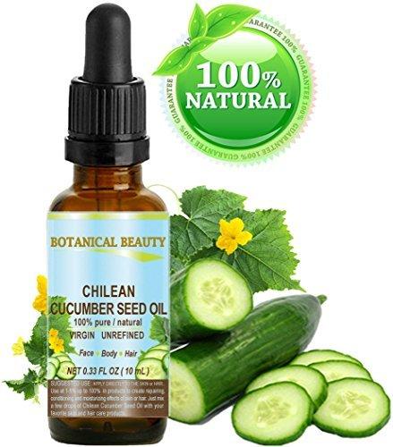 CUCUMBER SEED OIL CHILEAN 100 % PURE / Natural / VIRGIN / UN