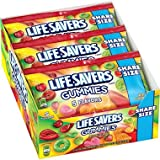 LIFESAVERS GUMMIES KING SIZE – 5 FLAVORS 4.2 oz Each ( 15 in a Pack )