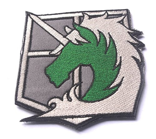 Attack on Titan - Military Police Brigade Badge ARMY Velc...