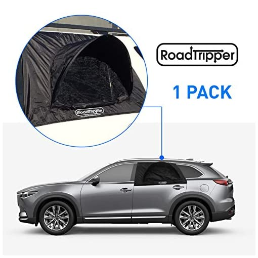 EasyGoProducts-RoadTripper-SUV-Car-Camping-Tent–Tent–Works-as-Vent-Bug-Guard-and-Sun-Screen-Canopy-Great-Car-Camping-Accessory