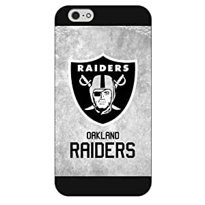"""Onelee Customized NFL Series Case for iPhone 6+ Plus 5.5"""", NFL Team Oakland Raiders Logo iPhone 6 Plus 5.5"""
