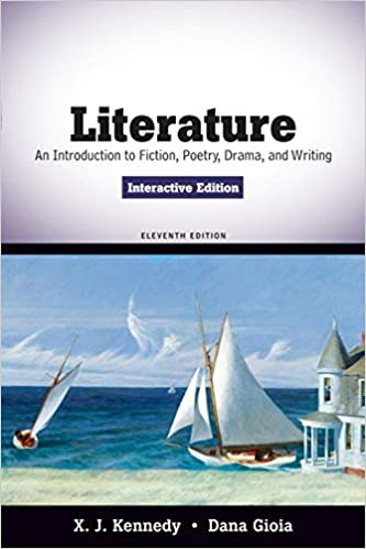 literature an introduction to fiction poetry drama and writing 8th edition table of contents