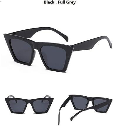 SUGLAUSES Gafas de sol Gafas De Ojo De Gato Negro Mujer Vintage ...