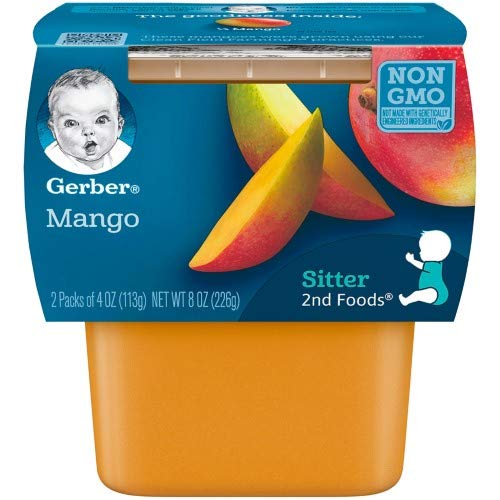 Gerber 2nd Foods Mangos Baby Food (Pack of 12)