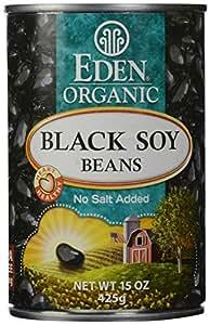 Eden Foods Organic Black Soy Beans, 15 oz