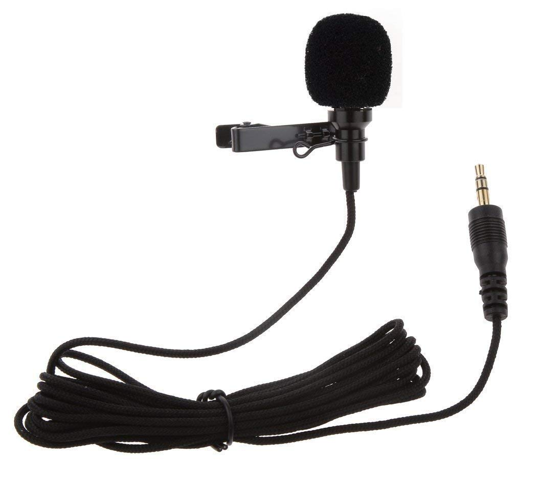 Promise Deals 3 5mm Clip Microphone For Youtube, Collar Mike