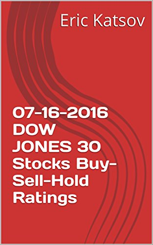 Download PDF 07-16-2016  DOW JONES 30 Stocks Buy-Sell-Hold Ratings