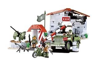 Ejército Pequeño, Jeep Willys MB, Base de Montaña (320 Piezas)
