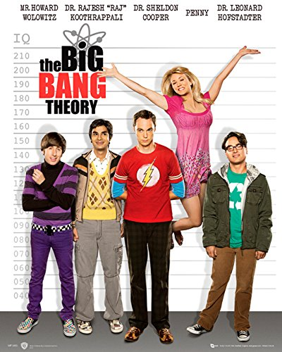 GB eye 40 x 50 cm Line Up The Big Bang Theory Mini Posters, Multi-Colour by GB Eye Limited ()