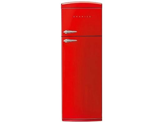 Retro Kühlschrank Schaub Lorenz : Oranier rkg 2 standgerät kühl gefrierkombination rot kühlschrank