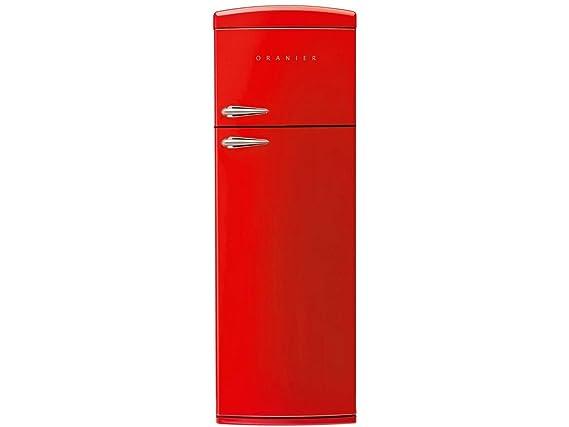 Oranier Retro Kühlschrank : Oranier rkg standgerät kühl gefrierkombination rot kühlschrank