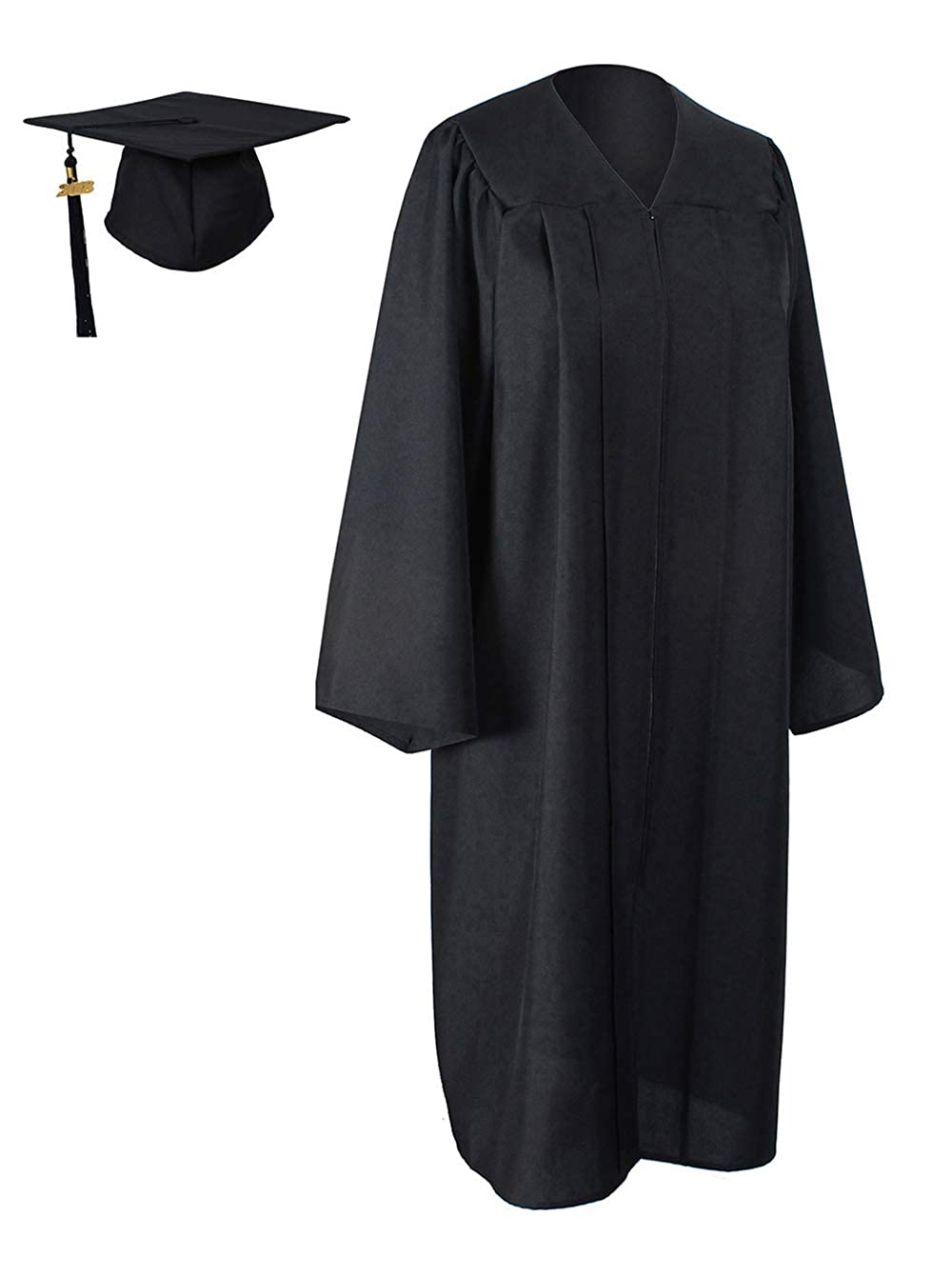 GraduationForYou Matte Graduation Gown Cap Tassel 2018 at Amazon ...