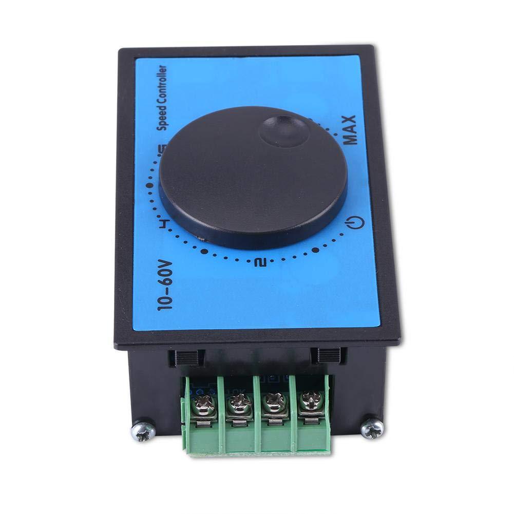 Motor Speed Controller DC10-60V 20A Protezione avvio Blocco lento Protezione bassa tensione//sovracorrente PWM Modulo regolatore