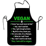 Funny Vegan I Am Still A Vegan Kitchen Cooking Apron